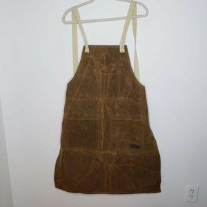 Readywares Brown Waxed Canvas Utility Work Apron